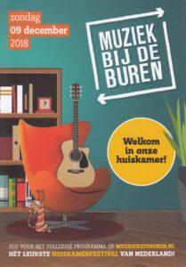 Muziek bij de Buren poster